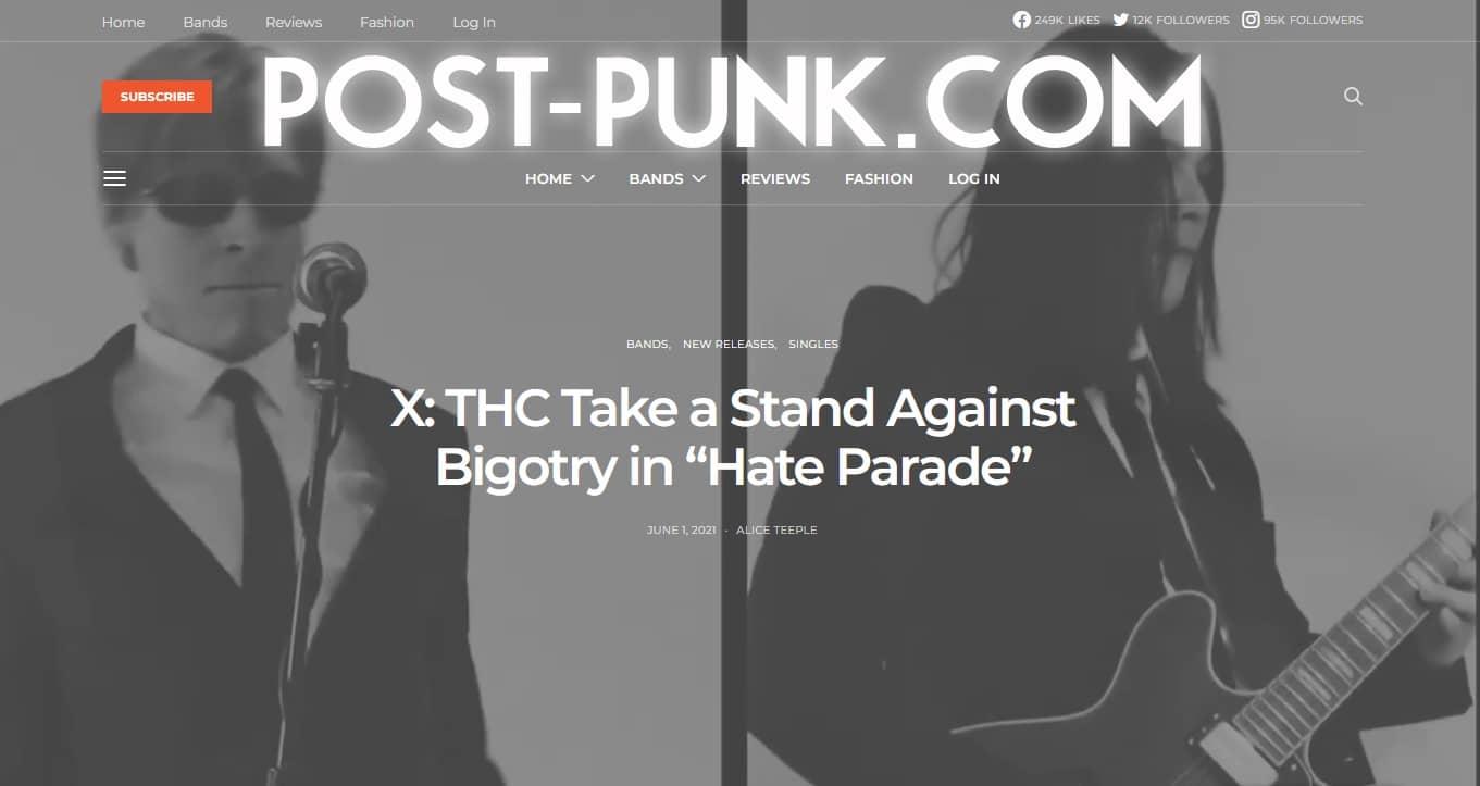 X: THC Post Punk